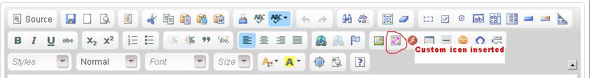 toolbar icon